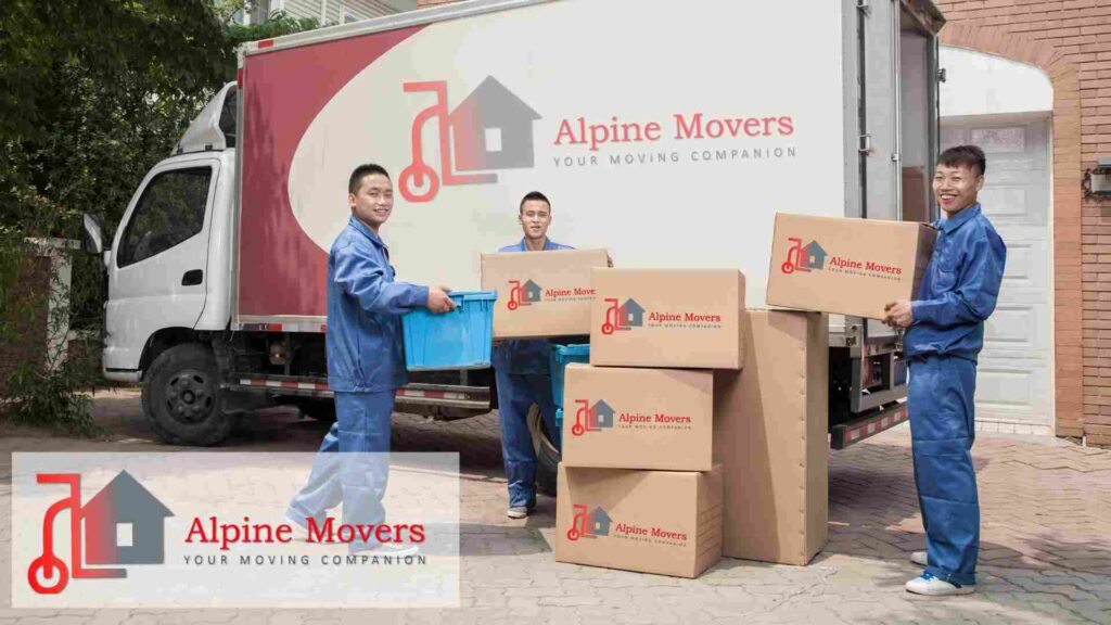 - Alpine Movers - Truck and Staff